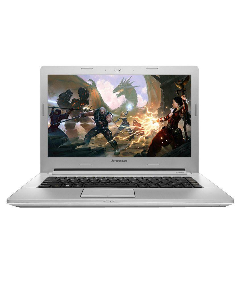 Lenovo Z50-70 IdeaPad (59-430541) Laptop (4th Gen Intel Core i5- 8GB RAM- 1TB HDD- 39.62cm (15.6)- Win 8.1- 4GB Graphics) (White)