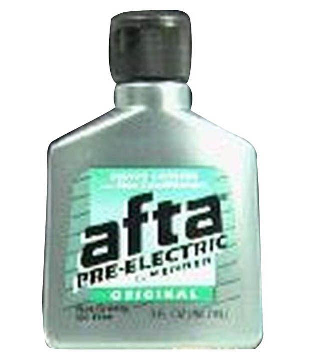 Afta Pre Electric Shave Lotion 89ml Pack Of 3 Buy Afta Pre Electric