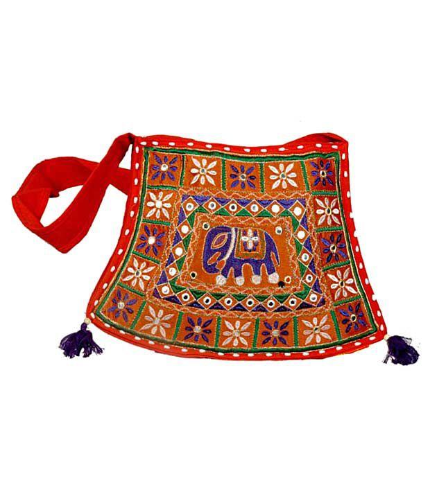 Treasure of Thar TOT-1038 Orange Sling Bags
