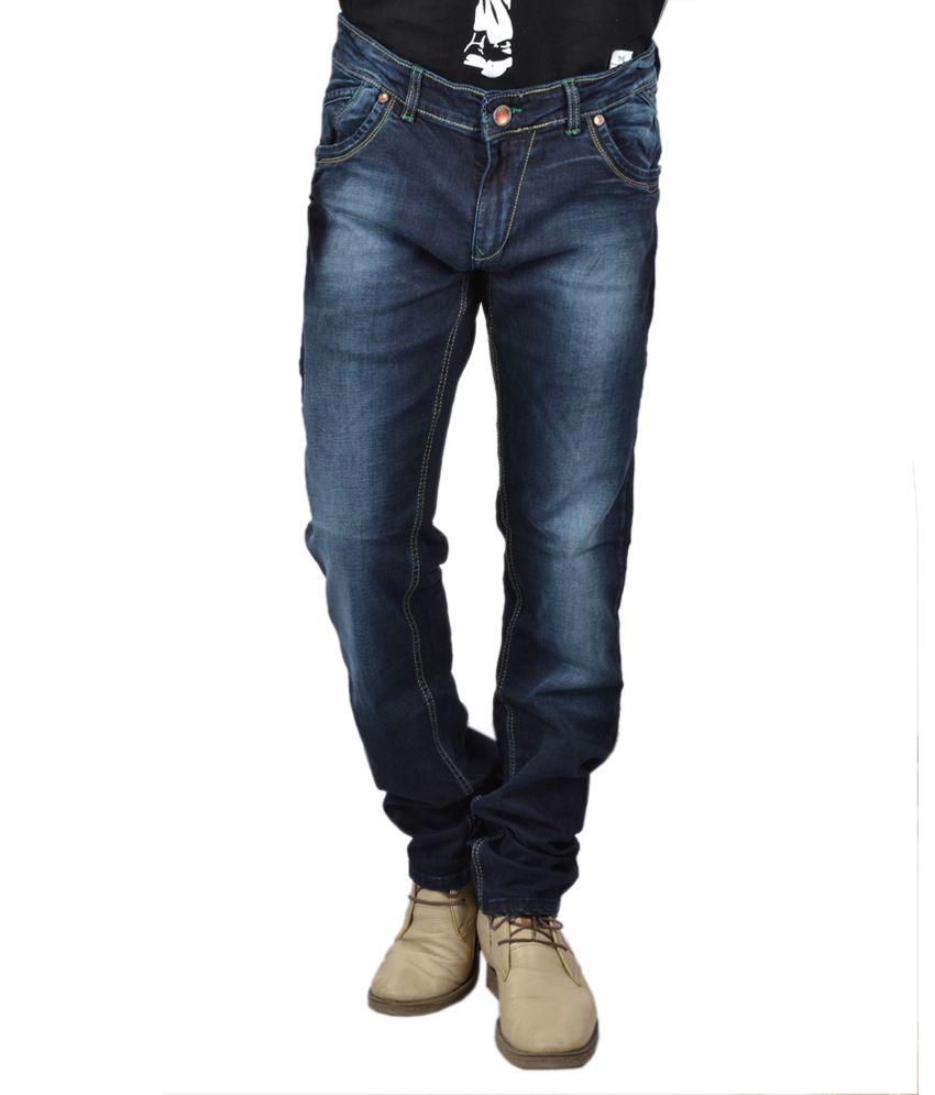 Arihant Clothing Co Beyond Blue Zest Mens Denims