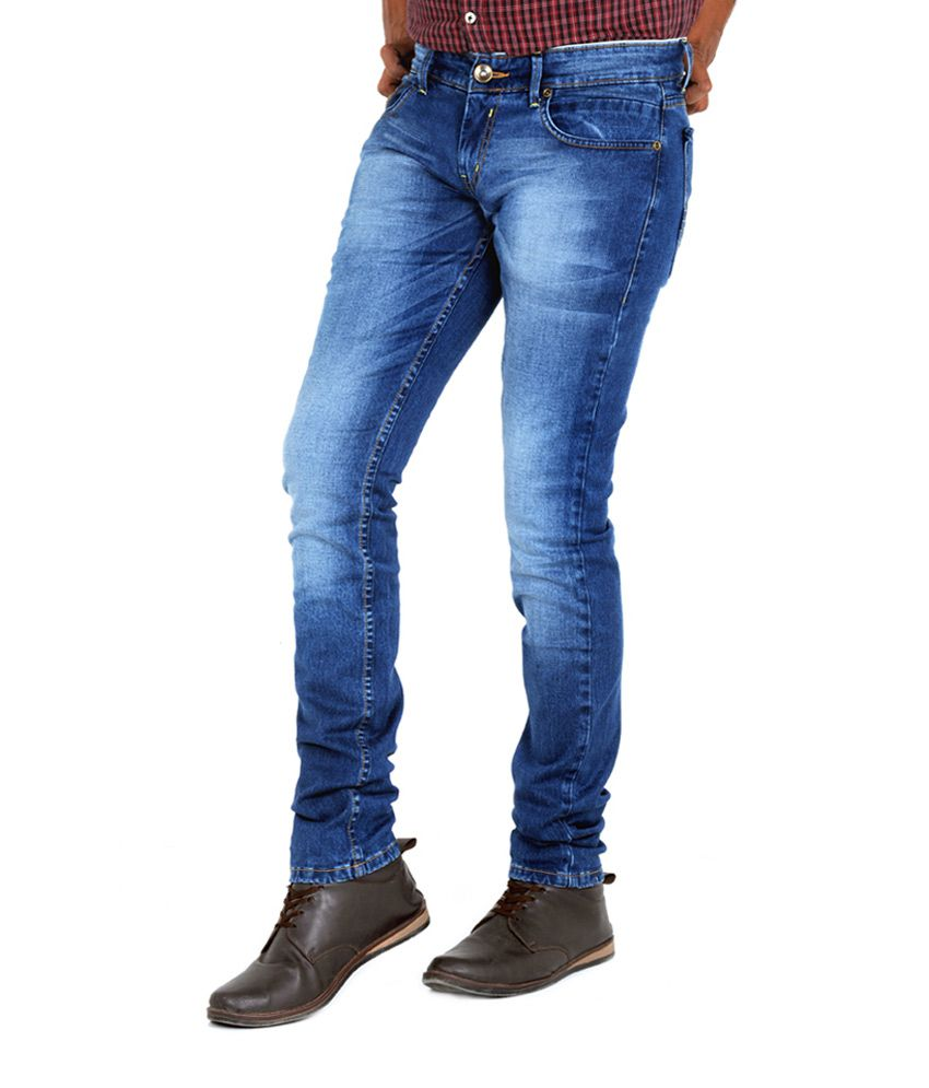 Indigen Blue Super Skinny Denim Jeans