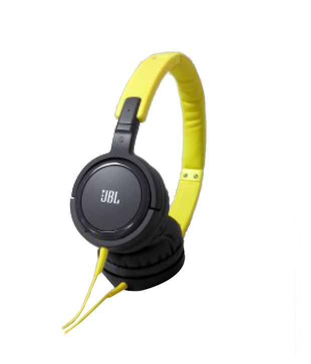 b0fad8cce17 JBL TEMPO J03 Over Ear Headphones (Yellow and Gray) With Mic - Buy JBL TEMPO  J03 Over Ear Headphones (Yellow and Gray) With Mic Online at Best Prices in  ...