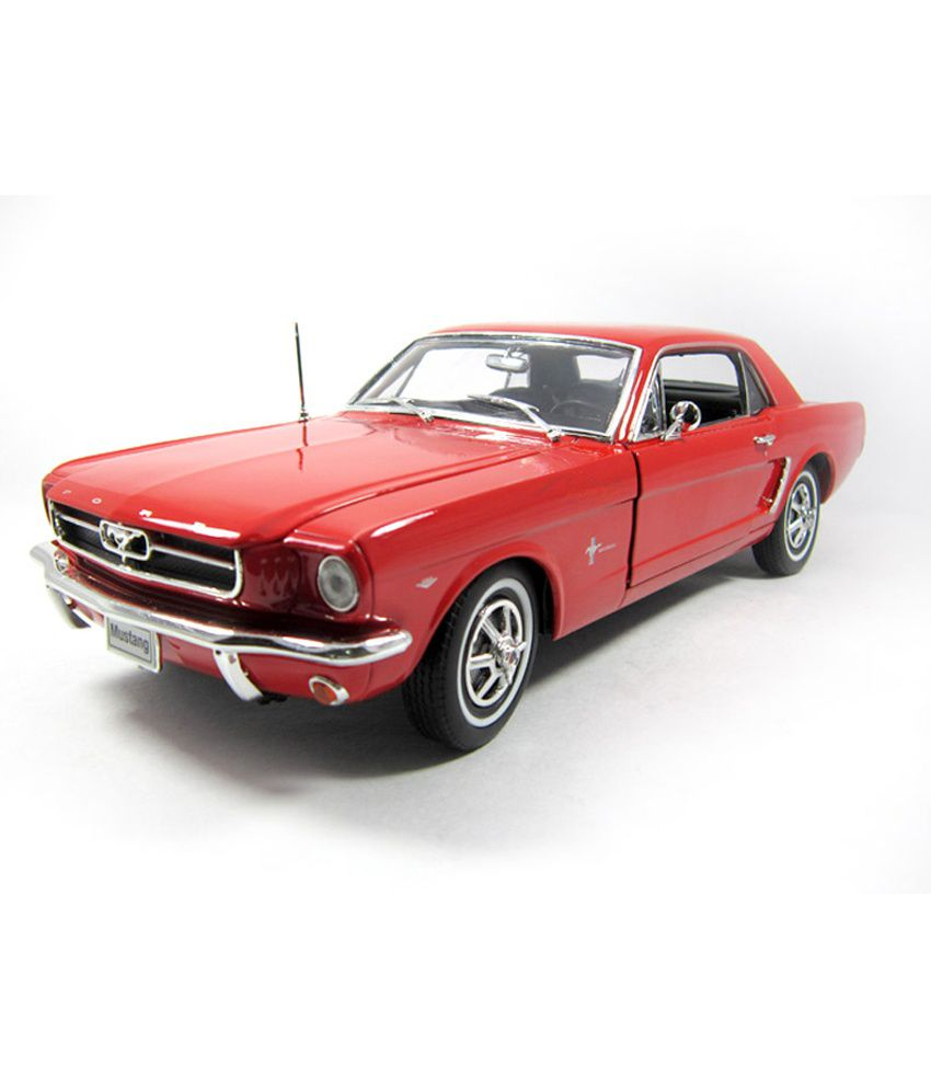 1964 ford mustang 1 18 by welly diecast scale model car. Black Bedroom Furniture Sets. Home Design Ideas