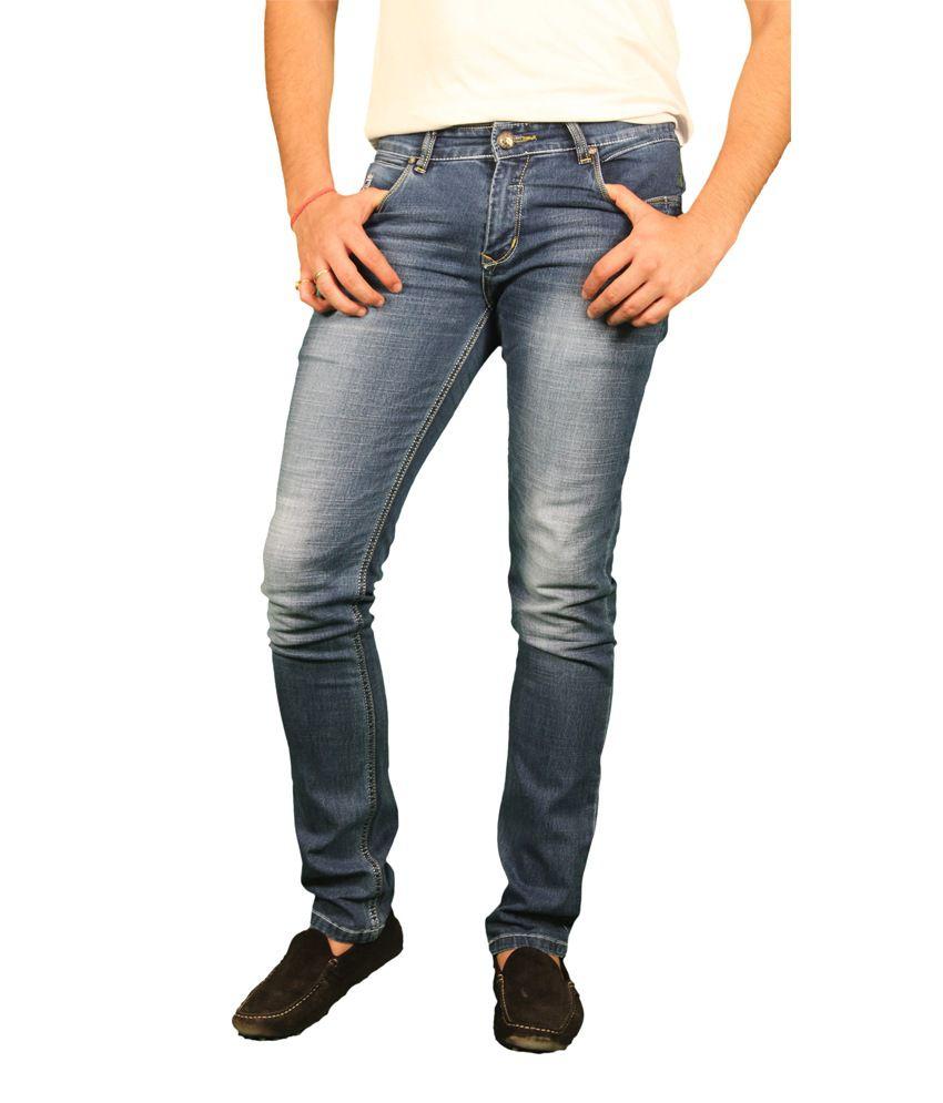 3 Concept Regular Fit Stretchable Jeans For Men