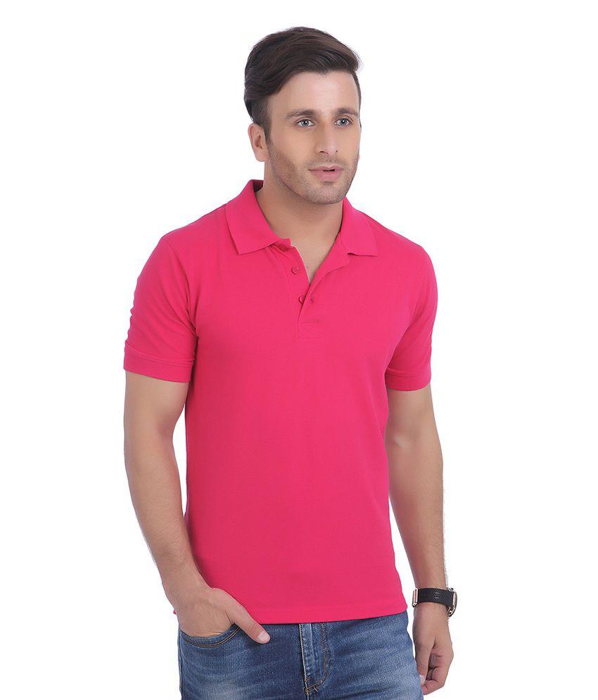 3f83b6142 American Crew Men's Polo Collar Wine Dark Pink T-shirt - Buy American Crew  Men's Polo Collar Wine Dark Pink T-shirt Online at Low Price - Snapdeal.com