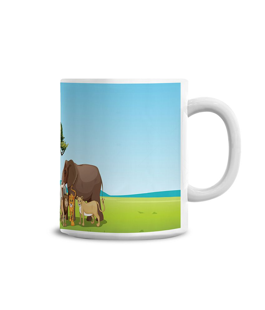 Lovely Collectionjungle Safari Mug