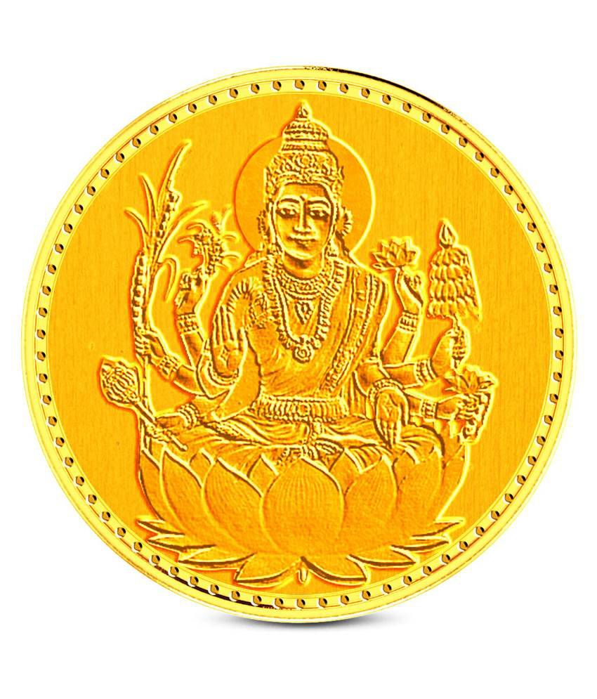zaamor diamonds 1 gm gold lakshmi coin buy zaamor