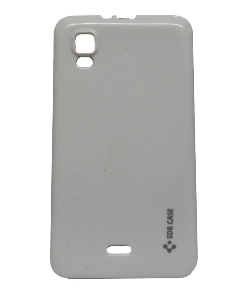 sale retailer 12cc3 8b931 Jo Jo Back Cover For Micromax A102 Canvas Doodle 3 - White - Plain ...