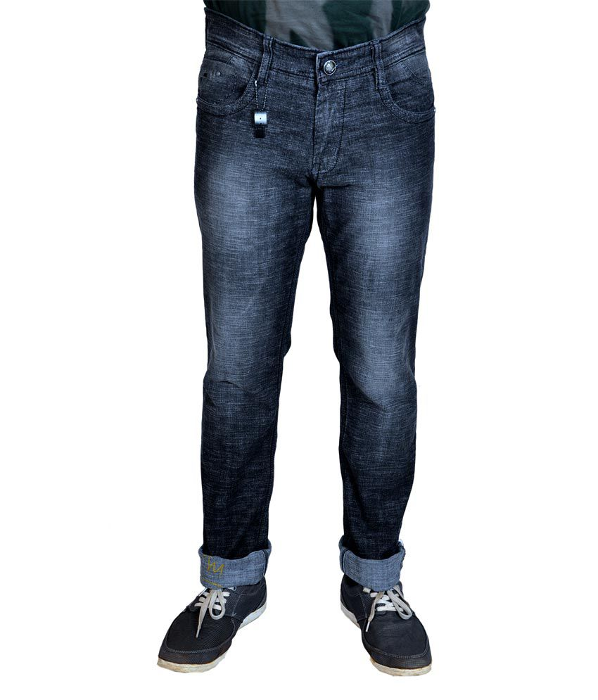 D69 Gray Narrow Fit Jeans