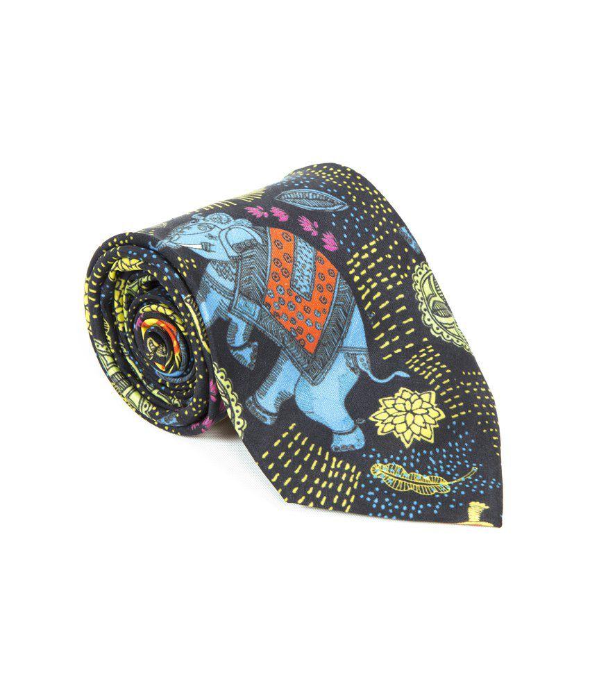 Mad(e) In India Madhubani Neck Tie