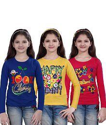 Sinimini Smart Girls Top 3 Pcs Combo