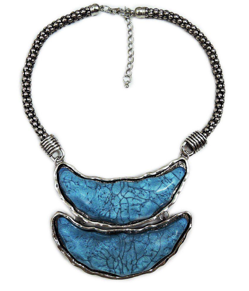 Auura Collection Blue Necklace