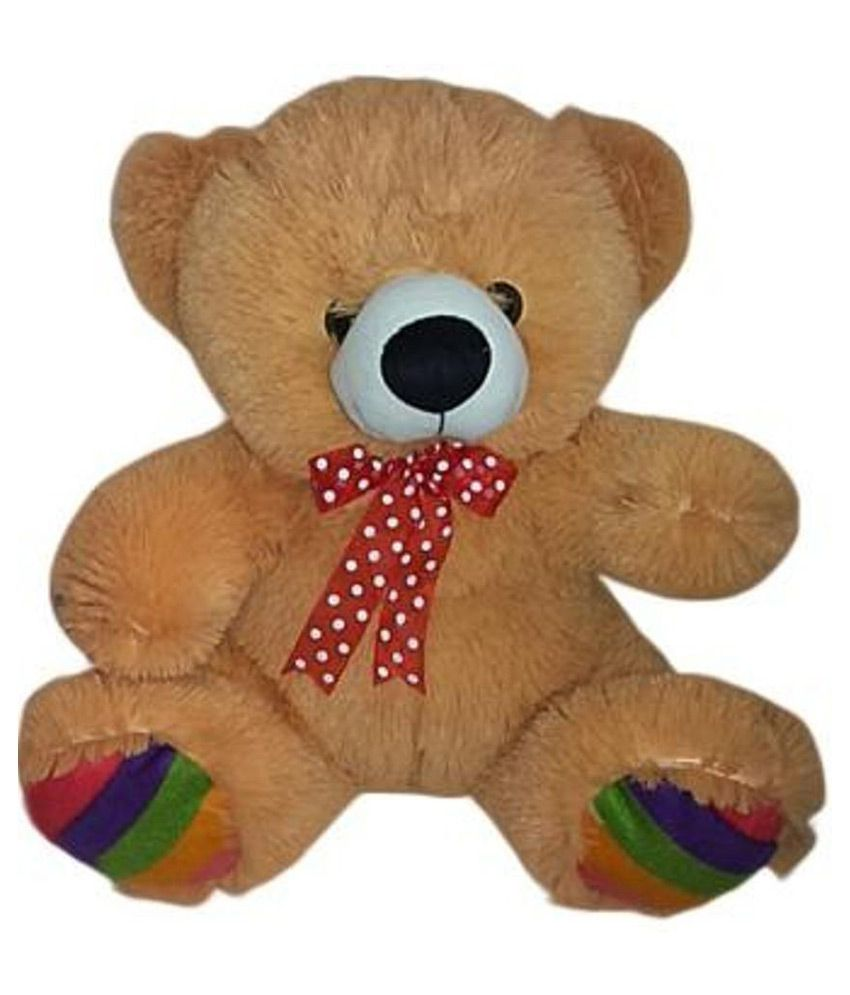 hug n play Hugn Play Brown Colour Teddy Bear