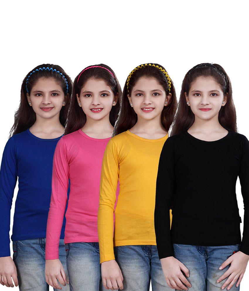 Sini Mini Cute Girls Top 4 Pcs Combo