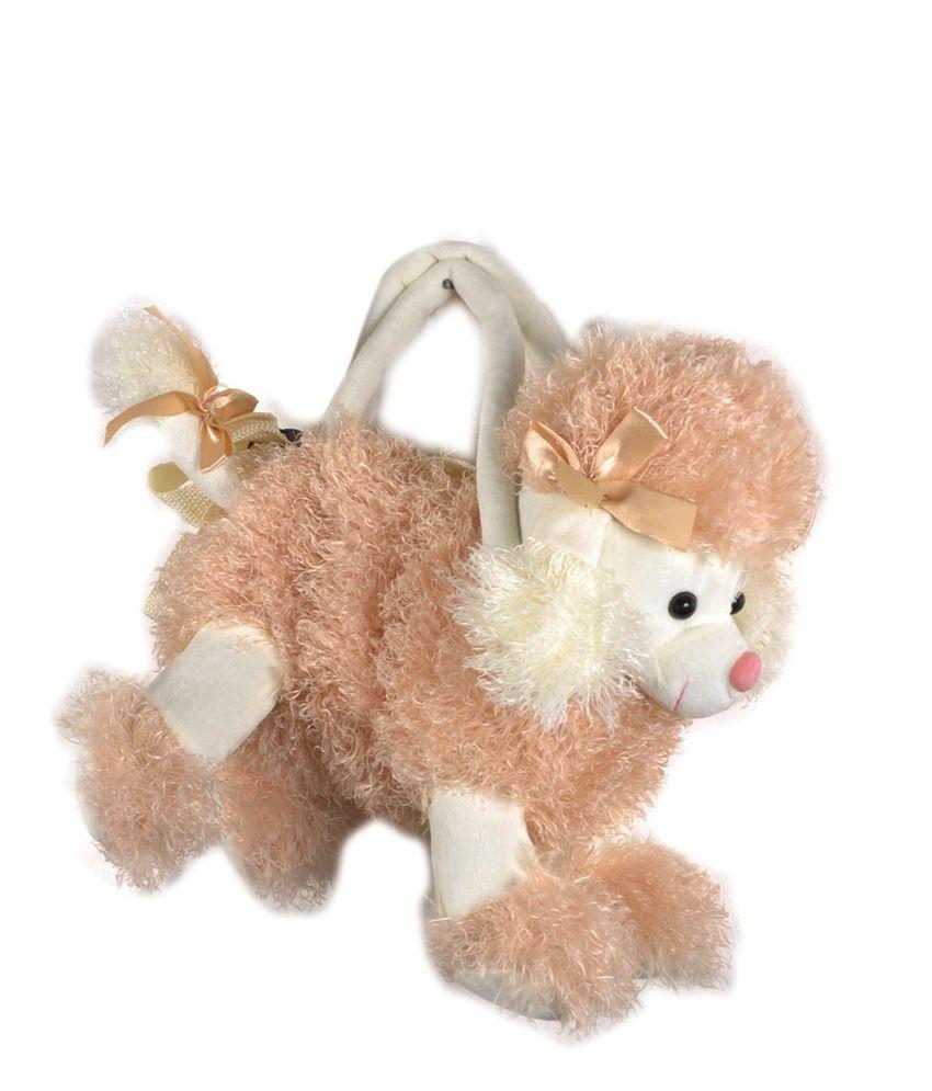Vareesha Beige Poodle Picnic Bag
