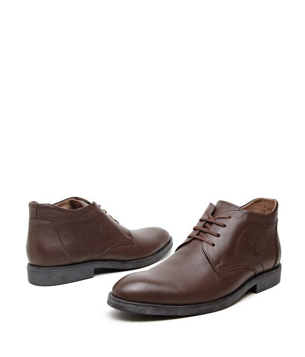 Buckaroo Brown Work Wear Derby Shoes