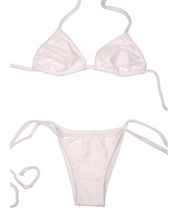 a9c89dc39 Buy Our Rituals Shimmering Bikini Bra Thong Panty Set In Strings ...