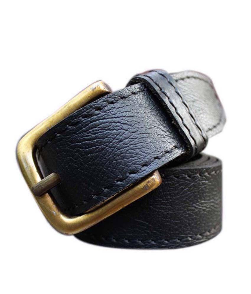 Winsome Deal Black Formal Single Belt ForMen