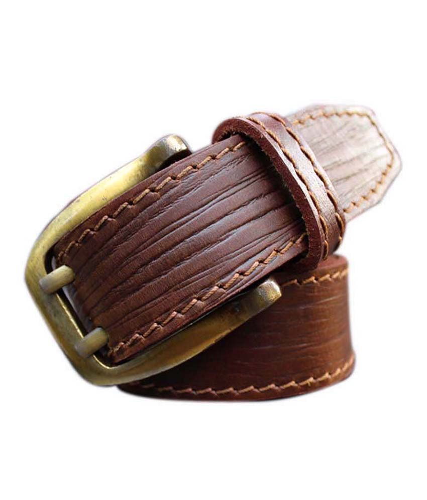 Winsome Deal Brown Formal Single Belt ForMen
