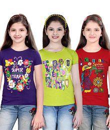 Sinimini Fashion Girls Top 3 Pcs Combo