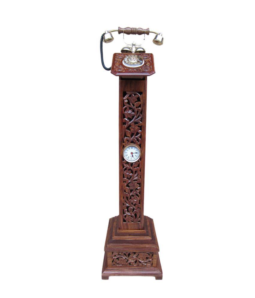 Pillar Telephone With Chilai Work
