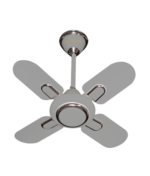 Havmore 24 24inch Decorative Four Blade Silver Celing Fan
