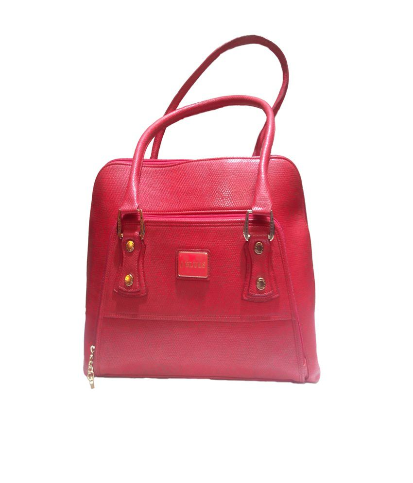 J Blues Red Women Handbag