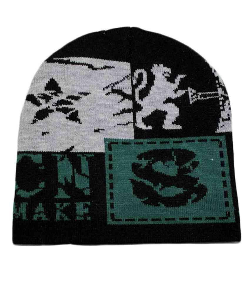 Ro Green Woollen Winter Caps