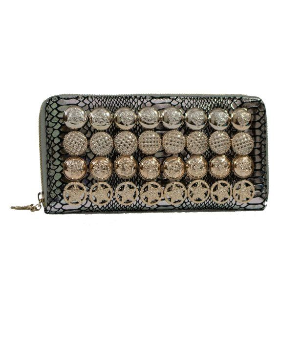 Kupiddo Decorative Buttons Wallet