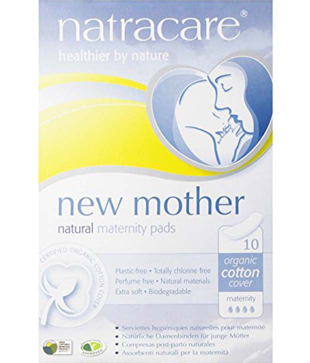 7cc70d14a3aa6 Natracare New Mother Natural Maternity Pads 10 Count: Buy Natracare New  Mother Natural Maternity Pads 10 Count at Best Prices in India - Snapdeal