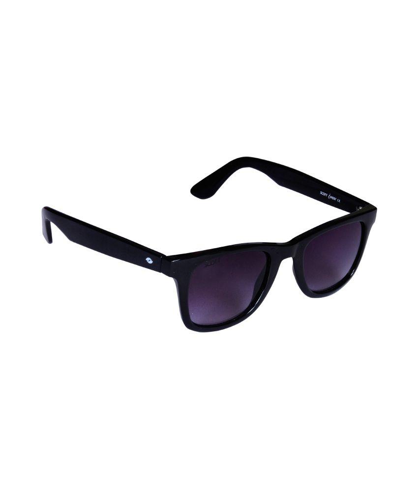 6936501cea Scott Black Medium Men Wayfarer Sunglasses - Buy Scott Black Medium Men  Wayfarer Sunglasses Online at Low Price - Snapdeal