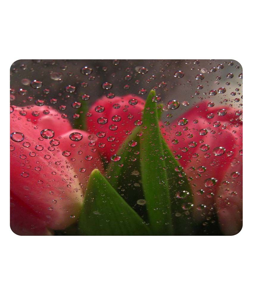 Shopkeeda Beautiful Tulpis Flower Mouse Pad
