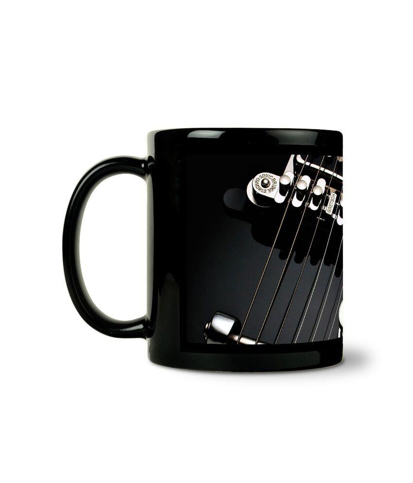 Bluegape Guitar Chords Black Mug Buy Online At Best Price In India