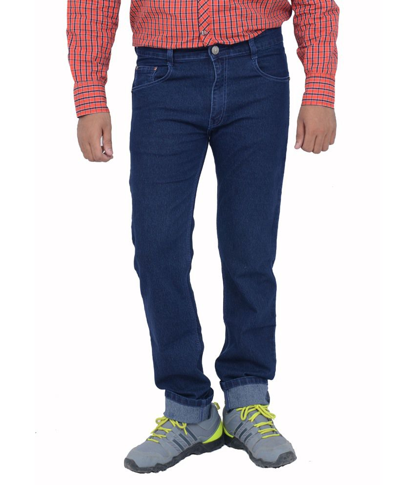 Studio Nexx Dark Blue Regular Fit Jeans