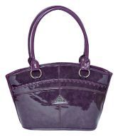 Deco Leathers Guchi Purple Designer Trendy Bag