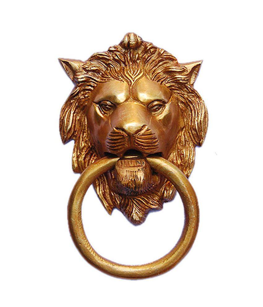 Aakrati door knocker of lion face best price in india on 31st december 2017 dealtuno - Lion face door knocker ...
