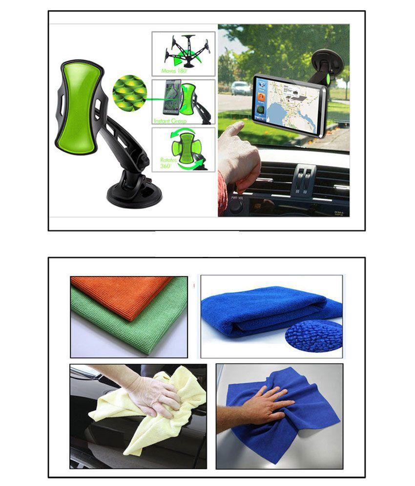 vheelocityin multi purpose microfiber dry wet cleaning polishing cloth gripgo car phone gps. Black Bedroom Furniture Sets. Home Design Ideas