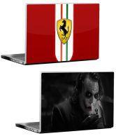 Ferrari Logo + Dark Joker Laptop Skin (Buy One Get One)