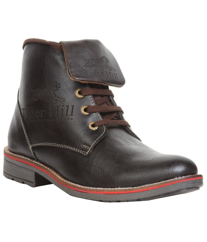 Do Bhai Collections Black Boots