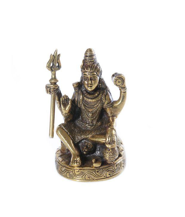 Frestol Brown Brass Shiva Idol