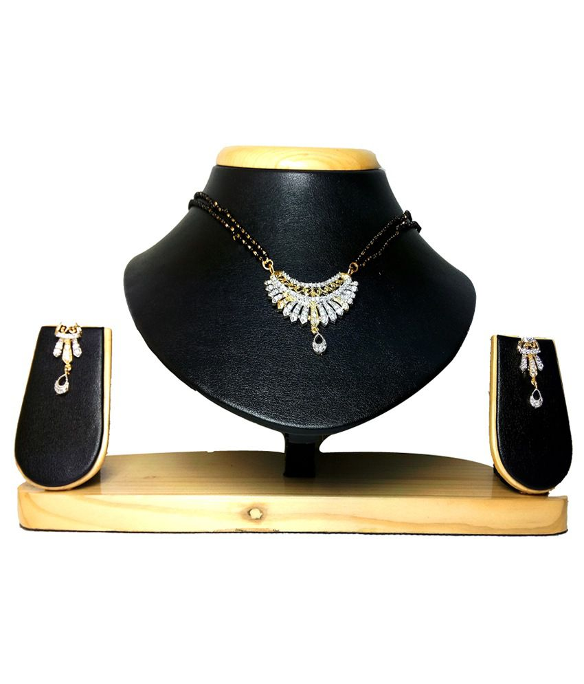 Mini Muskan Traditional Diamond Mangalsutra Set