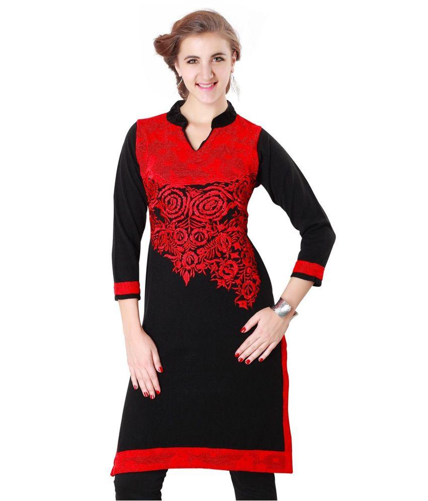 131b04ef5 Rebecca Ethnic Winter Wear Indian Bollywood Women ladies woollen Kurta  Kurti Tunic - Buy Rebecca Ethnic Winter Wear Indian Bollywood Women ladies  woollen ...