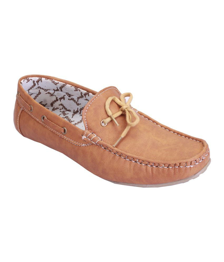 Shoebook Tan Loafers