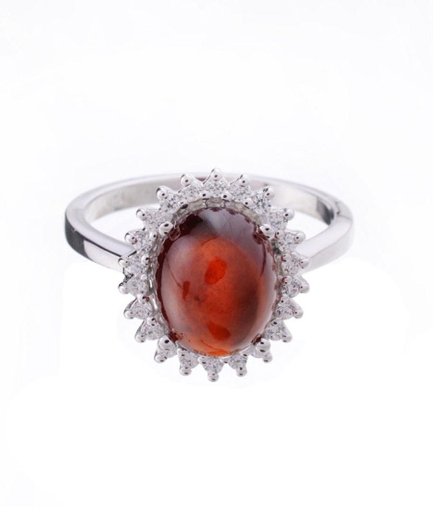 Aashirwad Silver Colour Spark Ring For Women