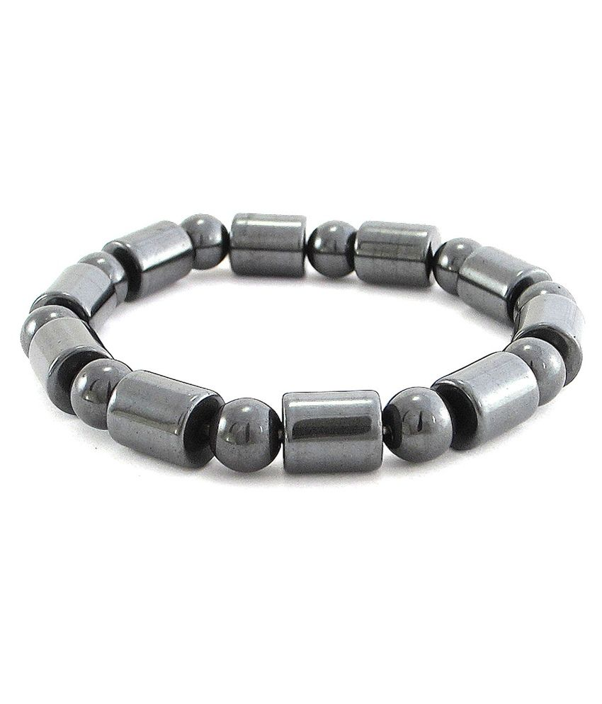 The Jewelbox Gray Alloy Bracelets