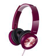 Panasonic RP-HXS400E-P Stylish Stereo Headphone With Swivel Mechanism- Pink