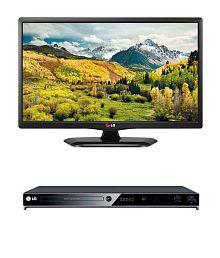 LG 20LB452A 50.8 cm (20) HD Ready LED + LG DV652 DVD Player