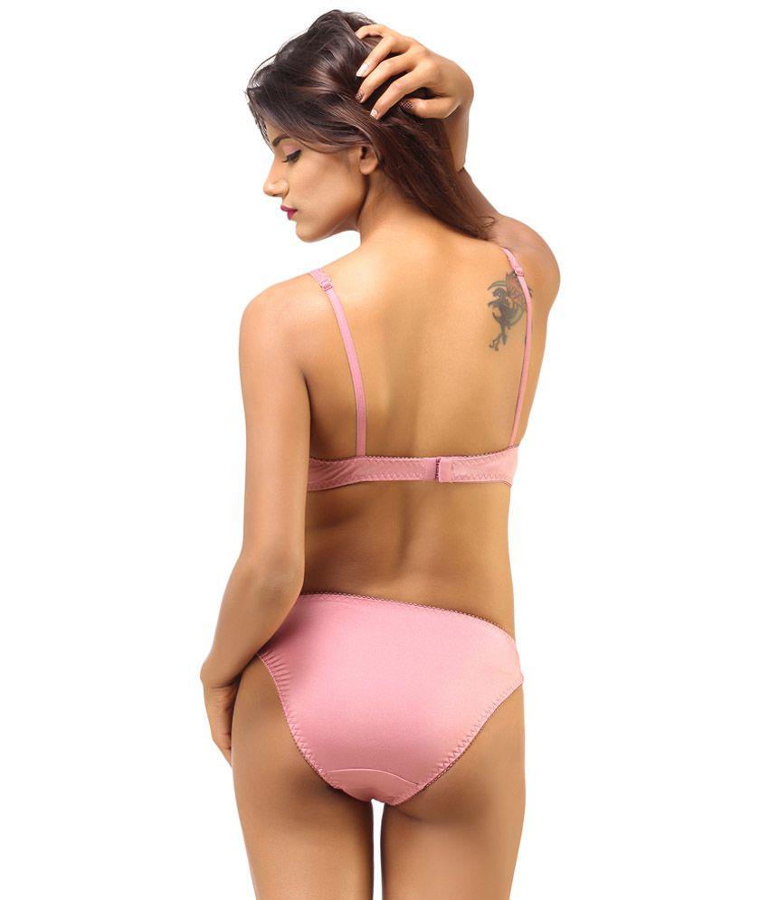 242a92323 Buy DesiHarem Multi Color Cotton Bra   Panty Sets Pack of 2 Online ...