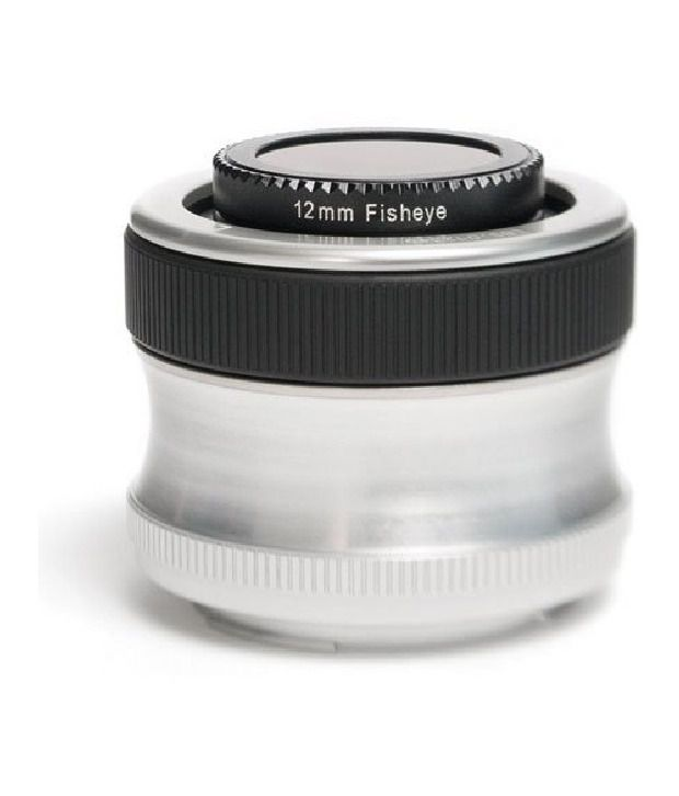 Lensbaby Scout With Fisheye Optic For Nikon Mount Digital Slr Cameras