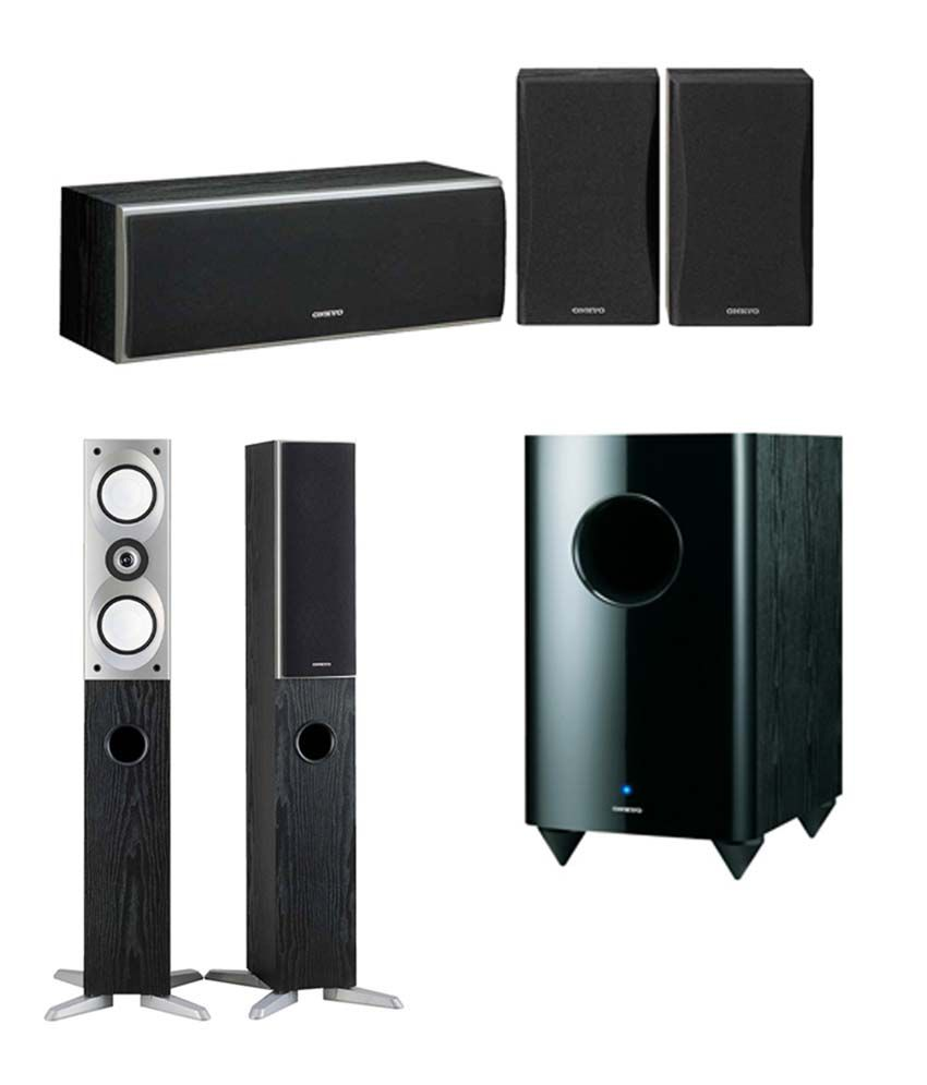 Buy Onkyo (SKF-4700 with SKS4800B and SKW-770) 5 1 Speaker System